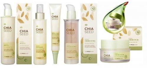 Bộ dưỡng ẩm Chia Seed The Face Shop 4