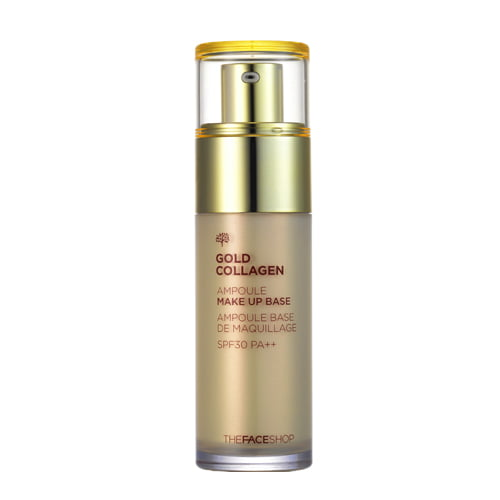 Gold Collagen Ampoule Make Up  Base