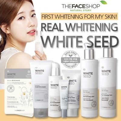 White Seed Foam Cleanser