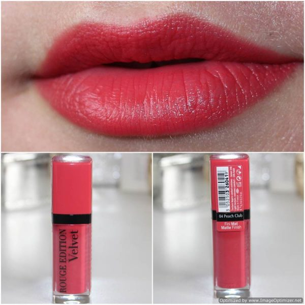 Bourjois Rouge Edition Velvet 4