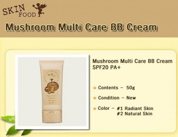 Mushroom Multi Care BB Cream