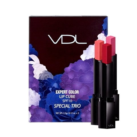 Set VDL Expert Color Lip Cube Special Trio SPF10 2