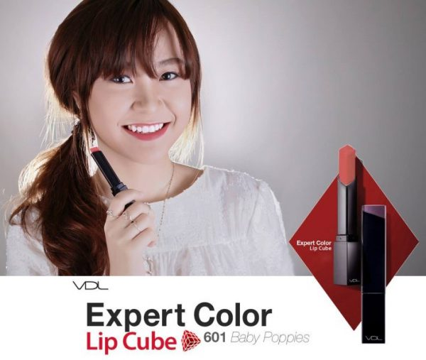 Set VDL Expert Color Lip Cube Special Trio SPF10 4