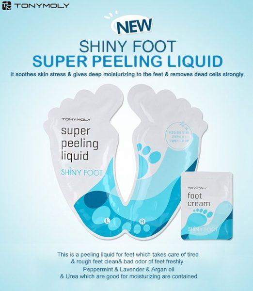 Tonymoly Shiny Foot Super Peeling Liquid 1+12