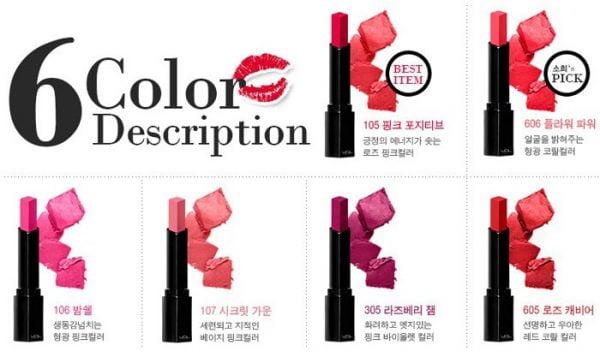 VDL Expert Color Lip Cube Moisture SPF10 3