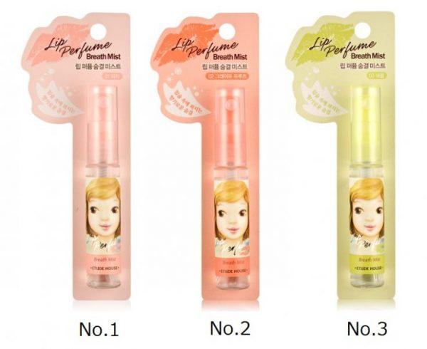 Xịt thơm miệng Lip Perfume Breath Mist 2