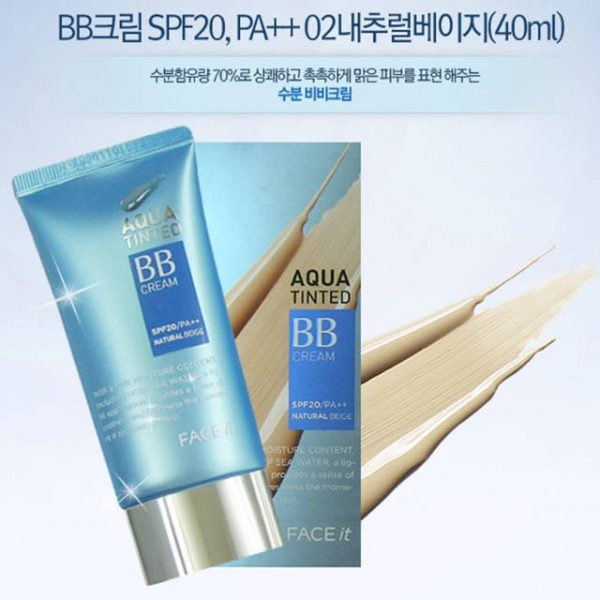 BB Cream Aqua tinted1