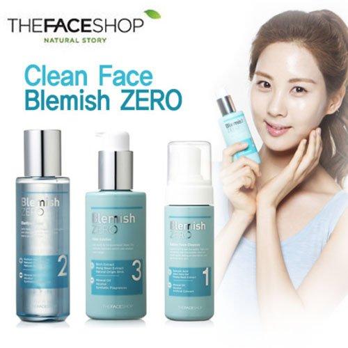 Clean Face Blemish Zero Bubble Foam Cleanser 3