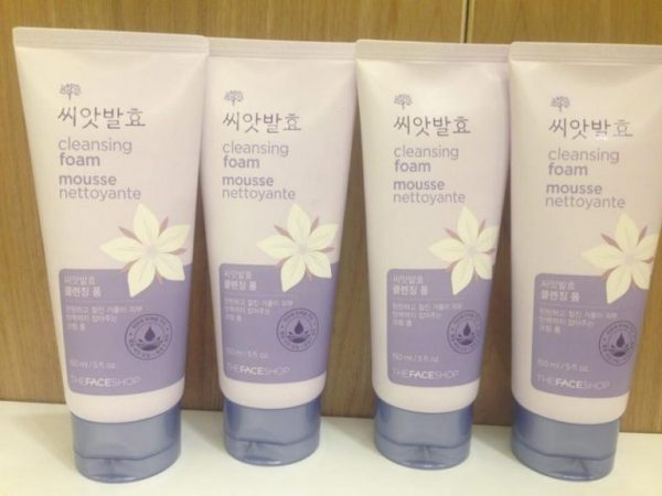 Cleansing foam mousse nettoyante1