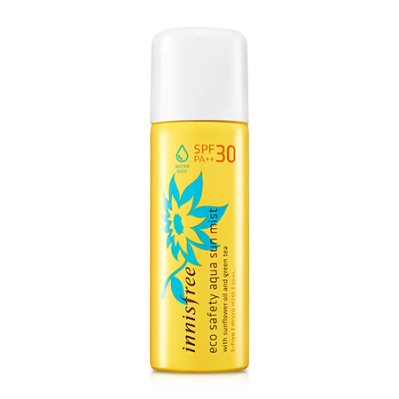 Eco safety aqua sun mist