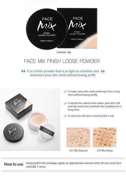 Face Mix Finish Loose Powder1