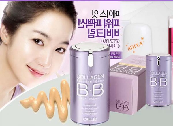 Kem nền BB Collagen Cellio 2