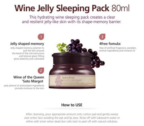 Wine Jelly Sleeping Mask