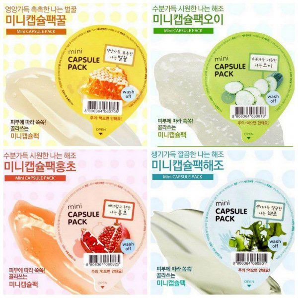 Mặt nạ mini capsule pack - The Face Shop2