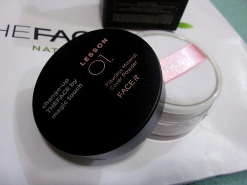 Face It Lesson 01 Flawless Mineral Cover Powder