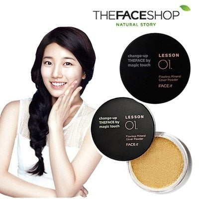 Face It Lesson 01 Flawless Mineral Cover Powder 5