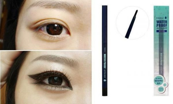 Face It Waterproof Auto Liner Black 3