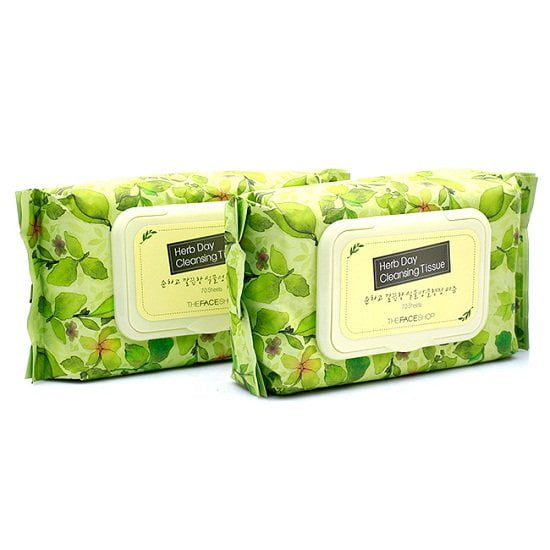 HERB DAY CLEANSING TISSUE3