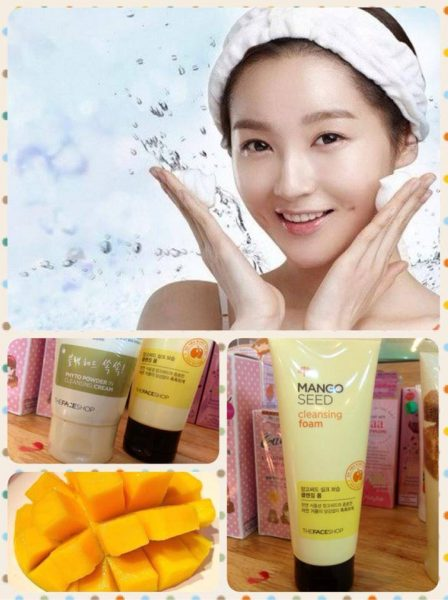 Mango Seed Cleansing Foam2