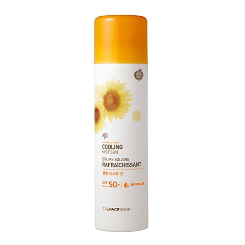 Natural Sun Cooling Mist Sun The Face Shop