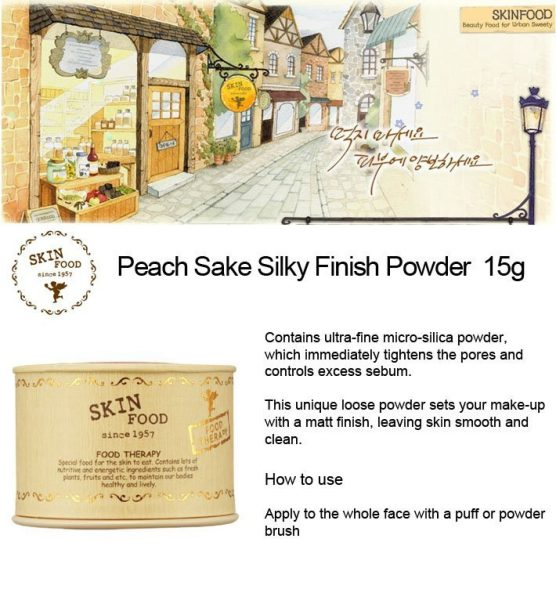 Peach Sake Silky Finish Powder 4
