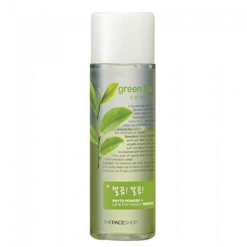 Phyto Powder In Lip & Eye Makeup Remover Green Tea