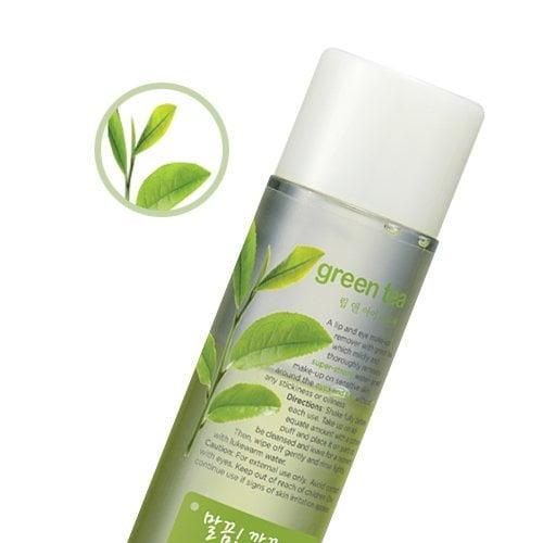 Phyto Powder In Lip & Eye Makeup Remover Green Tea1
