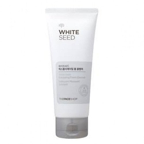 Sữa rửa mặt trắng da White Seed Exfoliating Foam Cleanser 2