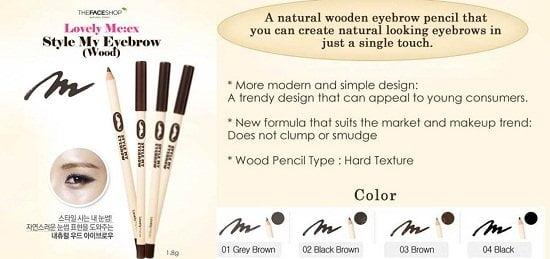 style my eyebrow the face shop2