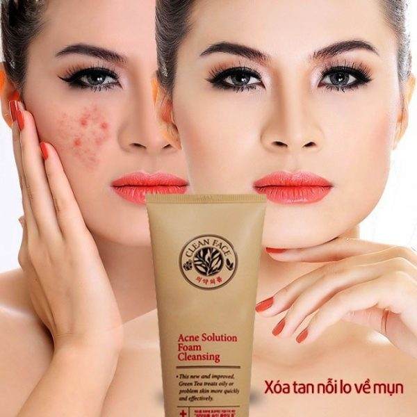 Acne Solution Foam Cleansing