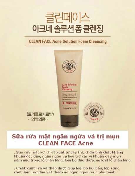 Acne Solution Foam Cleansing 4