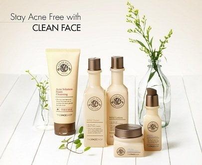 Clean Face Mild Lotion