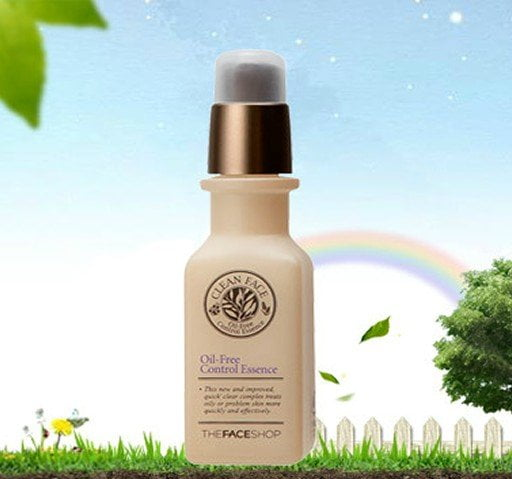 Clean Face Oil Free Control Essence 3