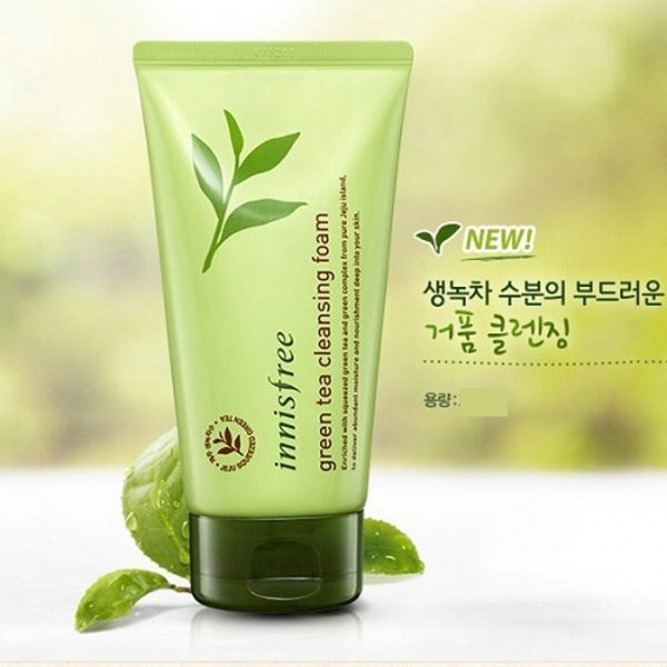 Green Tea Cleansing Foam 2