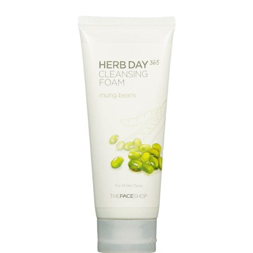 Herb Day 365 Cleansing Foam Mung Beans 1