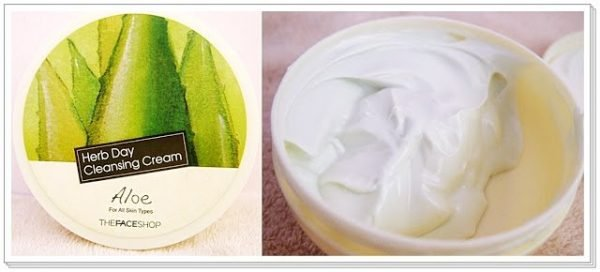 Herb Day Cleansing Cream - Aloe 5