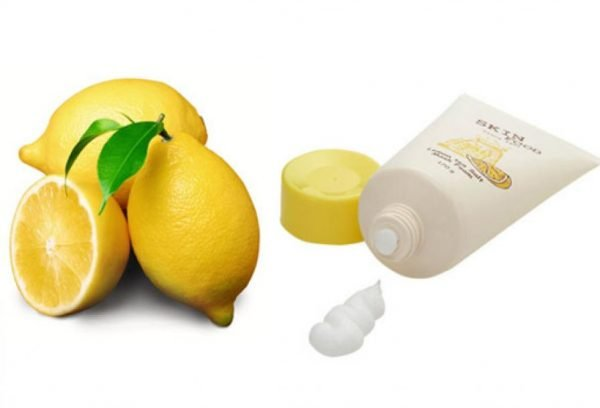 Lemon Tea Salt Mask Foam 3