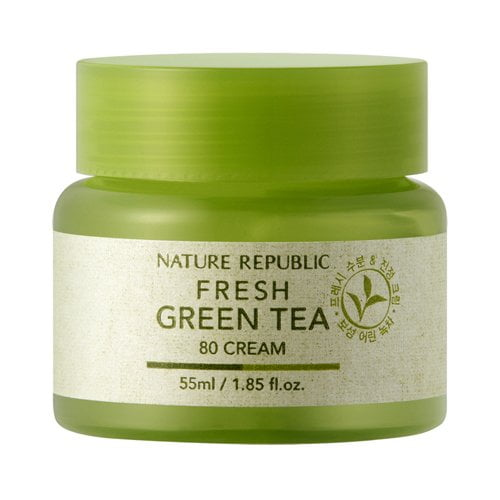Nature Repulic Fresh Green Tea 80 Cream 1