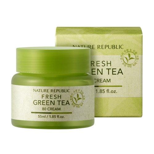 Nature Republic Fresh Green Tea 80 Cream