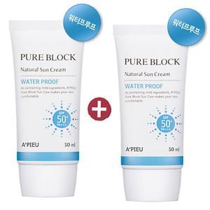 Pure Block Natural Daily Sun Cream Water Proof 3