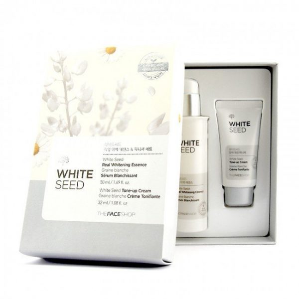 Set White Seed Real Whitening Essence & Cream 2