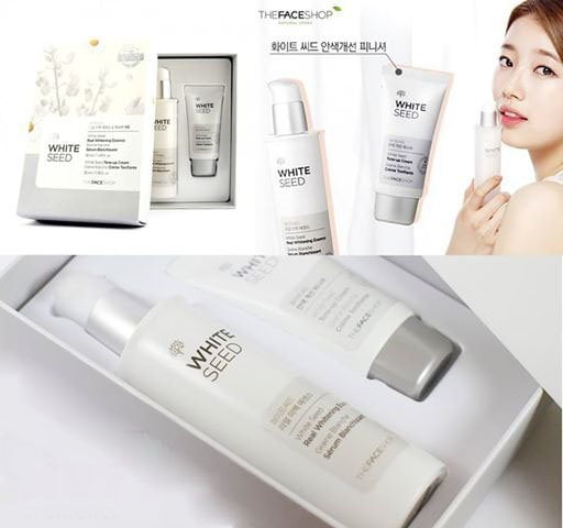 Set White Seed Real Whitening Essence & Cream 3
