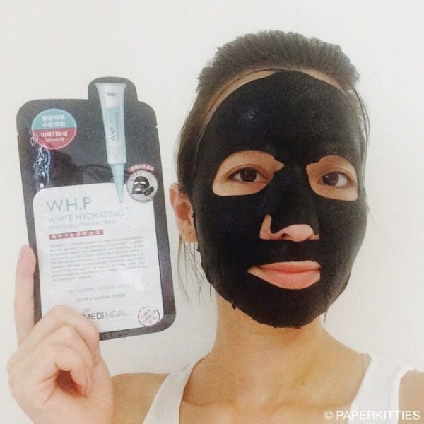 W.H.P White Hydrating Charcoal-Mineral Mask1
