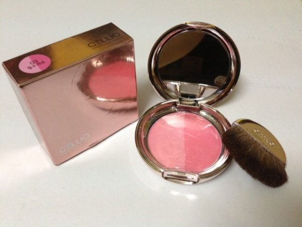Phấn Má Hồng Cellio Shining Blusher 2
