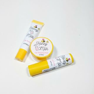 Honey & Milk Lip Scrub A'Pieu 3