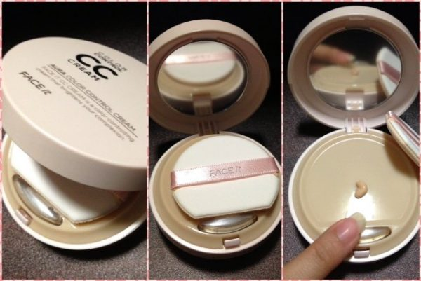 CC Cream Face It Aura Color Control Cream The Face Shop3