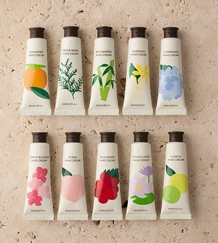 Innisfree Jeju Perfumed Hand Cream 6