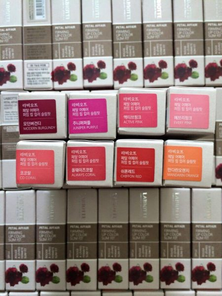 Labiotte Petal Affair Firming Lip Color Slim Fit 2