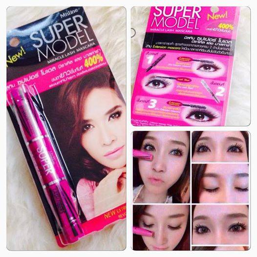 Mascara 2 đầu Mistine Super Model 4