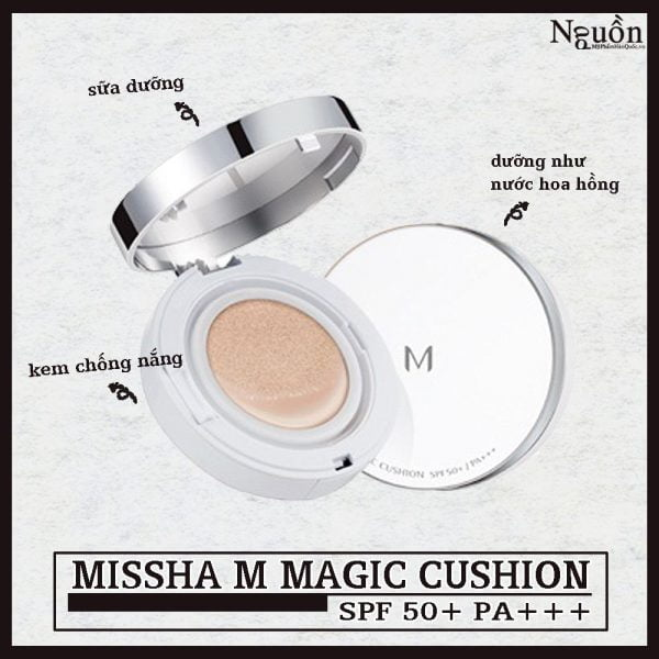 Phan nuoc Missha M Magic Cushion bìa